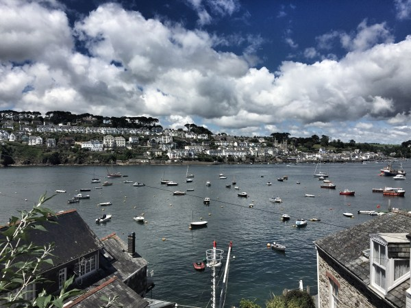 View of Fowey from Polruan, Cornwall