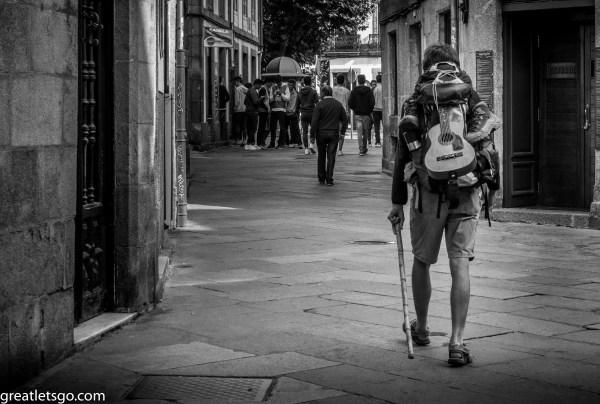 santiago camino walker