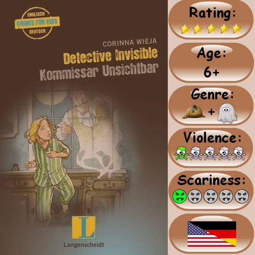 InfoGraphic for Detective Invisible - Kommisar Unsichtbar Book Review