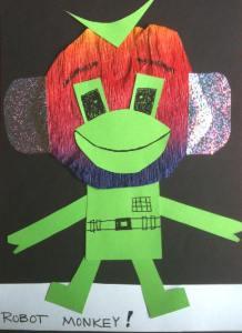 robot monkey