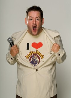 Johnny Vegas supports campaign