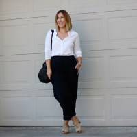 Outfit // Minimal Fashion (Black Crane)
