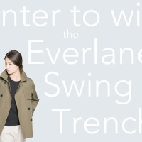 Givaway : Everlane Swing Trench