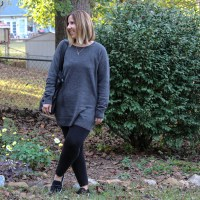 Outfit // Everlane Cashmere Tunic