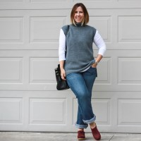 Outift | Everlane Ryan long sleeve