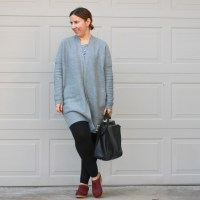 Outfit | Inhabit Cardigan + Shopbop Sale