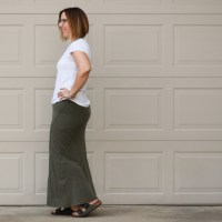 Outfit & Review | James Perse Ellipse skirt