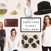 Conscious Closet Challenge | Earth Week Giveaway :)