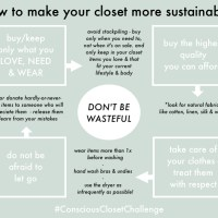 How to make your closet more sustainable without buying a thing