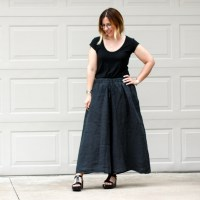 Outfit | Black Crane CULOTTES  (Of course I did!!)