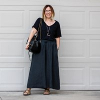 Outfit | Black Crane Culottes, Take 2