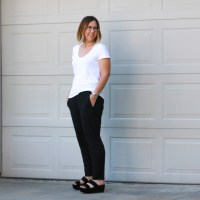 Outfit | Fear & Eileen Fisher Slouchy Pants