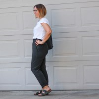 Outfit | Kit & Ace Mulberry Pant