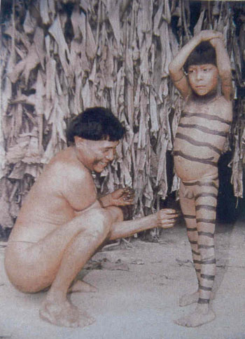 amazon tribe teens