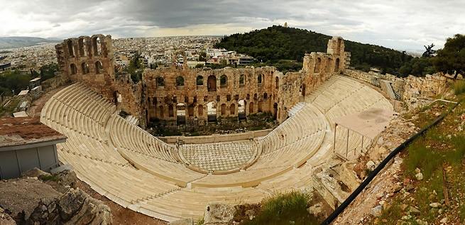 Театра Диониса в Афинах