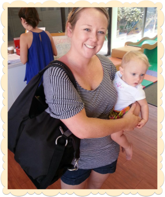 Eco-friendly diaper bag from Lassig