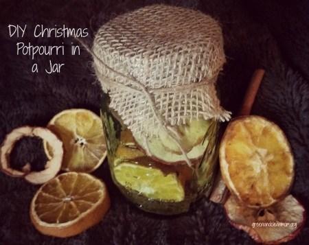 DIY Christmas Potpourri in a Jar