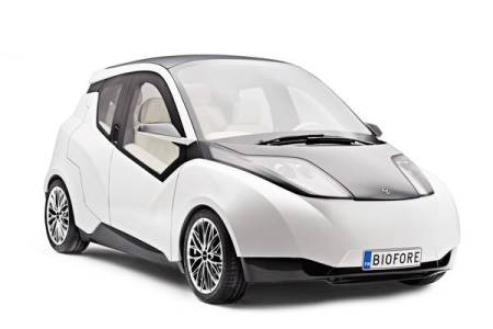 UPM launched the Biofore concept car