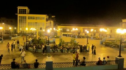 The Plaza, where Fidel gave the first speech after the Revolution