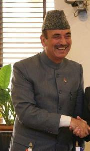 Ghulam Nabi Azad, Minister of Health and Family Welfare