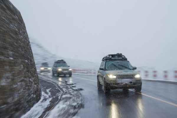 Range Rover hybrids
