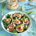 Fig & Green Pea Salad with Vegan Tofu Feta