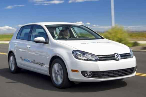 2014 Electric Vehicles, Volkswagen eGolf
