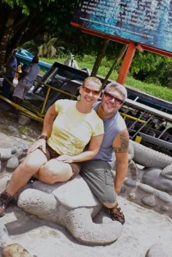 Boarding the boat to Tortuguero, Costa Rica