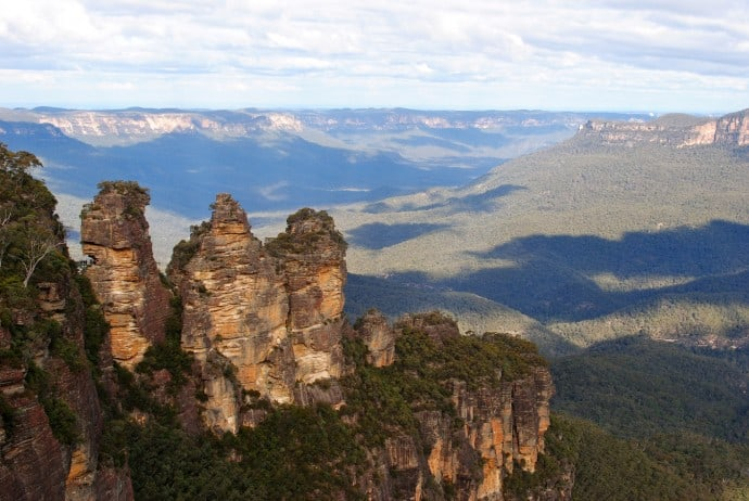 Blue Mountains National Park, , one of 10 Great Australian National Parks for Your World Travel Bucket List