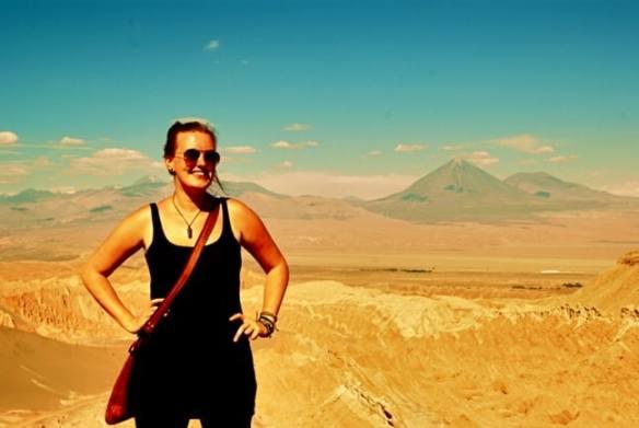 Emma Higgins Trekking the Atacama Desert