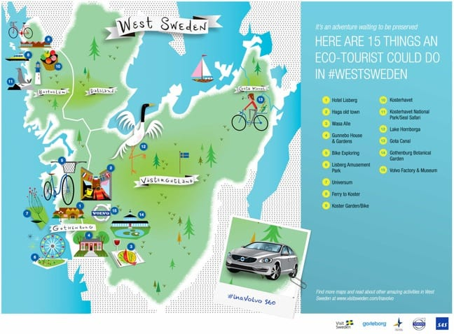 Eco-Tourist Guide to West Sweden
