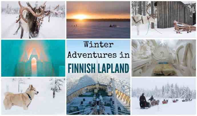 Winter Adventures in Finnish Lapland