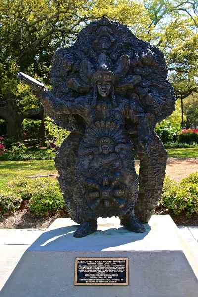 Treme New Orleans: Big Chief Tootie Montana Statue