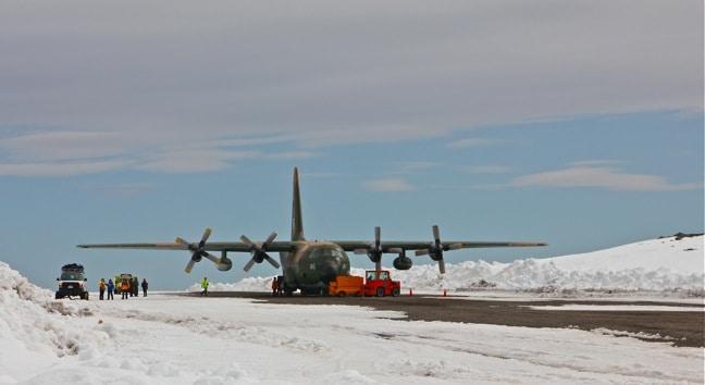 Teniente R. Marsh Airport, Antarctica