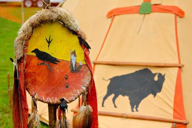 Native American Teepee, North Georgia Pow Wow