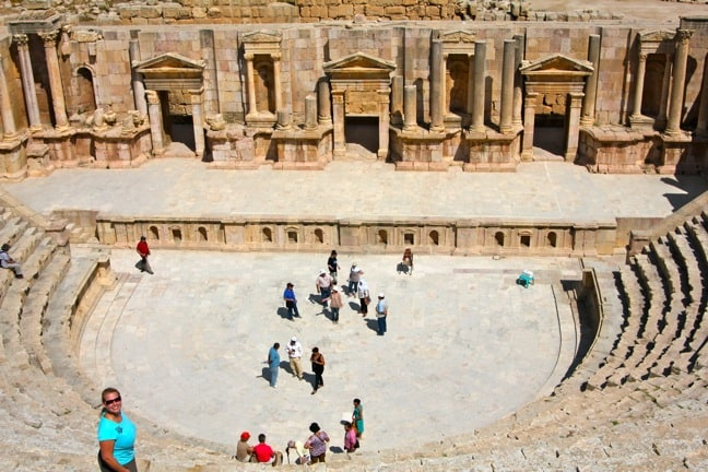 South Theater in Jerash, Jordan