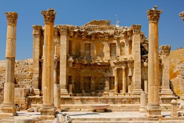 Nymphaeum in Jerash, Jordan