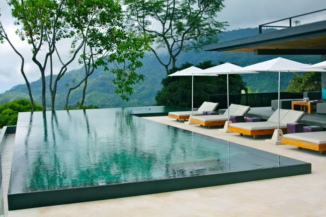 Rooftop Infinity Pool at Kura Design Villas, Costa Rica