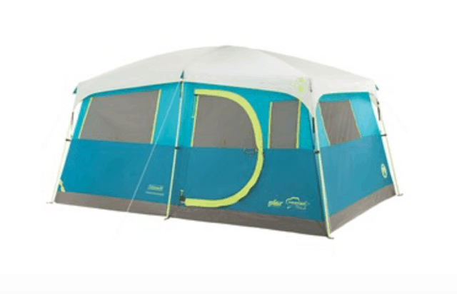 Outdoor Gear Review - Coleman Tenaya Lake 6 Person Fast Pitch Cabin with Cabinets