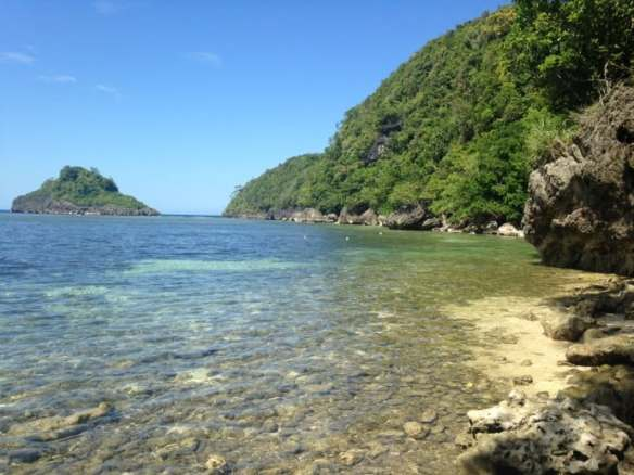 Philippine Island of Danjugan - Crystal Clear water