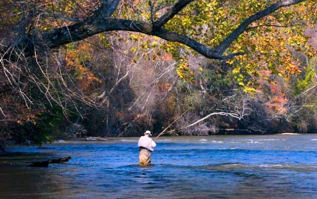 Pitch your park rangers plug six of the best us national for Chattahoochee river fishing