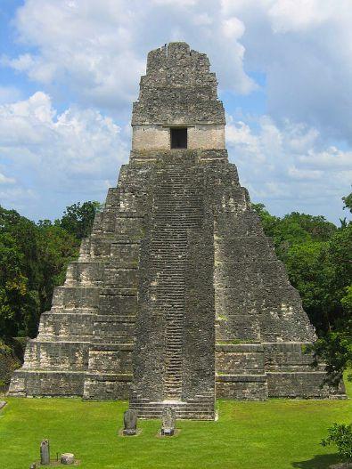 Tikal Temple by Raymond Ostertag via CC