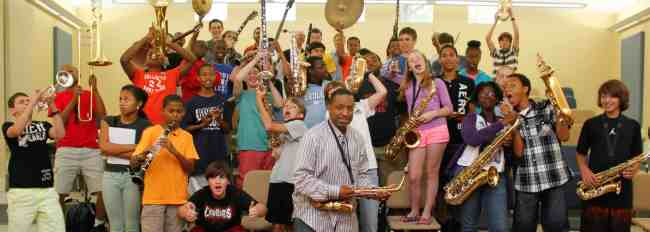 Treme New Orleans: Music Camp with Donald Harrison Jr