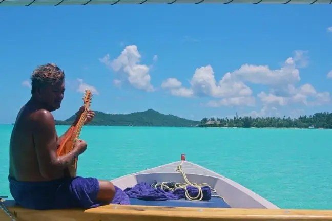 Ukulele Serenade By Lagoon Service Guide in Bora Bora, Tahiti