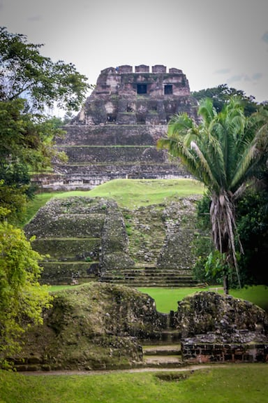 El Castillo at Xunantunich, Belize