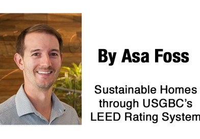 Sustainable Homes through USGBC's LEED Rating System