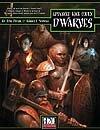 Advanced Race Codex: Dwarves