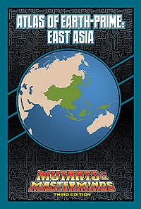 Atlas of Earth-Prime: East Asia