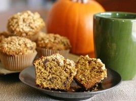 Pumkin-Oat-Date-Muffins