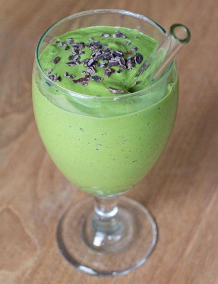 Mint Chip Matcha Green Smoothie